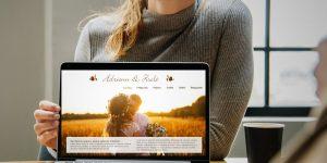 weboldal esküvőre
